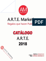 Catálogo Arte Marketing - A.R.T.E. 2018