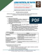 Convocatoria Proceso Cas Nº 001 2018 Mdy