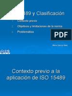 ISO 15489 y Clasificación archivística