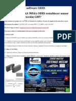 Tips Manejo Del Software ODIS