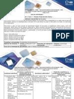 Guia de Actividades y Rúbrica de Evaluación Fase 2 Manejo Programación Básica