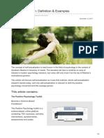 Positivepsychologyprogram.com-Self-Actualization Definition Amp Examples