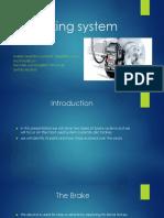 Breakig System/sistema de frenos