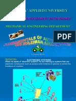 Fundamentals of AUTOTRONICS