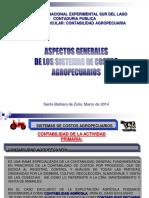 Unidad I - Aspectos Generales de Los Costos Agropecuarios