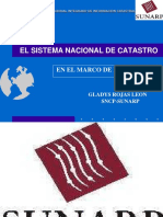 EL SISTEMA NACIONAL DE CATASTRO.ppt