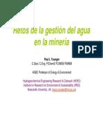 Retos Gestion Agua en La Mineria