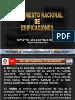 Reglamento Nacional de Edificaciones.ppt