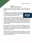 Carta de Ernesto Cardenal y CUDJ Nicaragua Para Jose (Pepe) Mujica