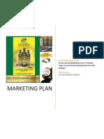 Marketing Plan Ava Virgin Coconut Oil
