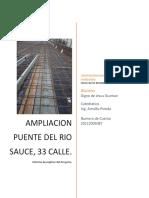 Informe Rio Sauce