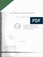 Mercados Metropolitanos de Trabalho e Marginalidade (1971)