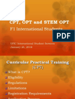 Cpt Opt and Stem