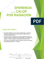 Transferencia de Calor Radiacion