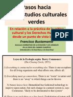 Pasos Hacia Unos Estudios Culturales Verdes