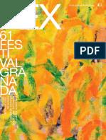 Folleto FEX Granada 2012