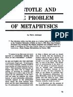 Aristotle and the Problem of Metaphysics - Pierre Aubenque.pdf