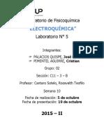 Laboratorio de Fisicoquímica N 5