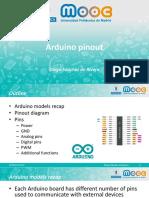 M3 Arduino Pinout