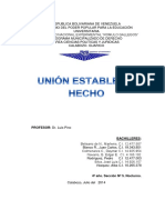 Analisis de Union Estable de Hecho