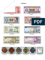 Billetes y Monedas de Honduras