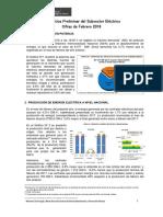 Estadística Preliminar Del Subsector Electrico - Febrero 18-Final-qyz48