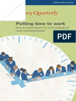 2013 Q1 - McKinsey Quarterly - Putting Time to Work