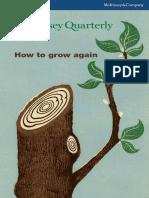 2011 Q2 - McKinsey Quarterly - How to Grow Again