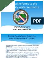 Poloncarz's ECWA reform proposal