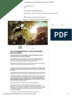 Les 5 Enseignements Du _Livre de La Jungle_ Pour Les Enfants – Nos Pensées