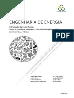 Engenharia de Energia - Introdução às Engenharias UFABC