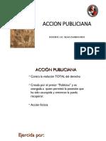 ACCION PUBLICIANA