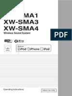 Pioneer Xw-sma4 Manual