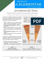 Revista_Estrutura Interna Da Terra