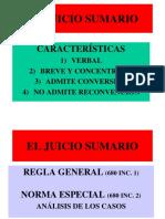 (6) El Juicio Sumario