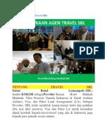 Cara Menjadi Agen Travel SBL