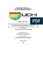 evasión tributaria de renta de primera categoria en los mercados comerciales del distrito de amarilis 2018