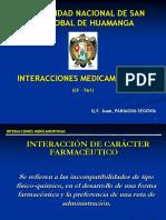 2º Interaccciones Farmaceuticas Administración Parenteral