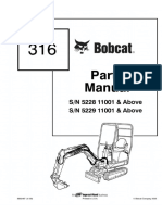 Bobcat 316 Excavator Parts Catalogue Manual SN 522911001 & Above.pdf