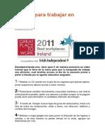 10 Tips Para Trabajar en Irlanda