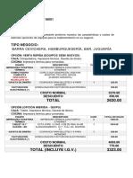 Proforma Equipos Informáticos Por Tipo Negocio - Restaurant.pe - q1 2018