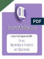 Aprenda a Invertir en Opciones - Invertironline.com
