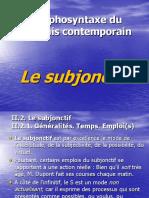 C8-9 Le Subjonctif