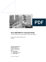 Cisco ONS SDH TL1 Command Guide