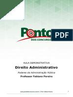 Aula Demonstrativa Delegado Pf 2018 Poderes