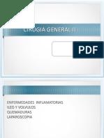Clase Cirugia General II