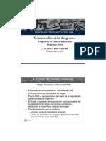 Etapas de La Comercialización - Galleano