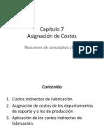 Capitulo 7 Asignacion de Costos