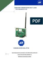 Guia de Programacion Comunicador TL 2603 IP_3G