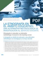 Art - La etnografía en el ámbito educativo. Una alternativa metodológica de investigación al servicio docente, Maturana y Garzón (2015).pdf